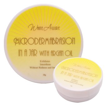 White Allure Microdermabrasion in a Jar with Argan Oil 50g Price Philippines
