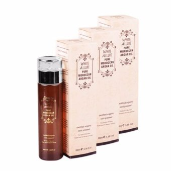 White Allure Pure Moroccan Argan Oil 100ml Pack of 3 Price Philippines