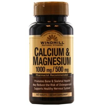 Windmill Calcium and Magnesium Tablets Bottle of 60