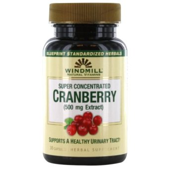 Windmill Cranberry 500mg Capsules Bottle of 30 Price Philippines