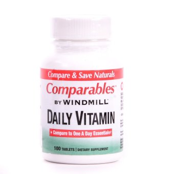 Windmill Daily Vitamin 100 Tablets Bottle of 2