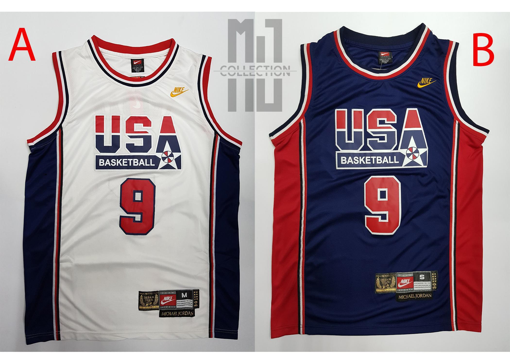 super popular 42b59 d08da Michael Jordan USA Jersey - NBA Basketball Jersey