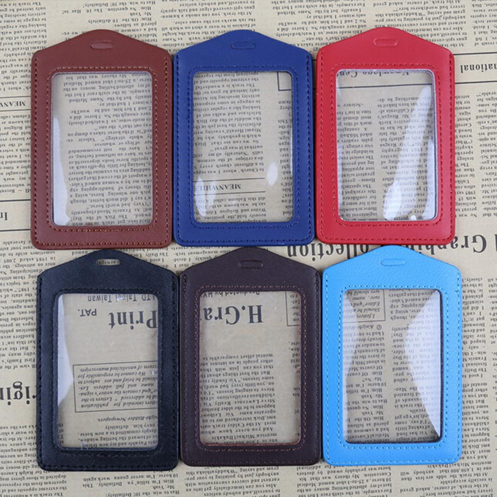 Quality High Lanyard Color Badge Case Clear Holder Hole And Border
