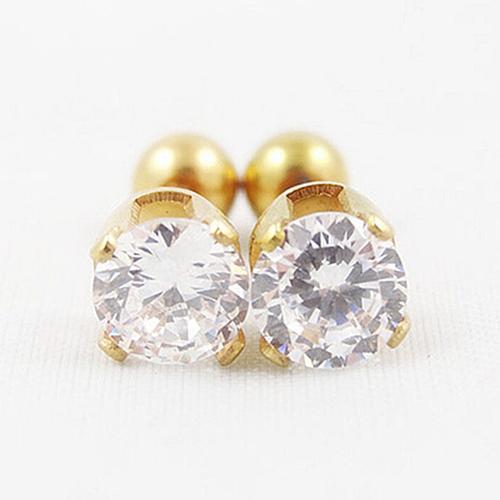 18ea62ad3 Product details of BODHI Men Women Rhinestone Cartilage Tragus Bar Helix  Upper Ear Earring Stud Jewelry