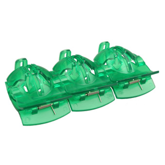 10pcs Golf Ball Alignment Tool Golf Ball Line Marker Tool Green - picture 2