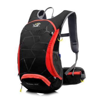 15L Bicycle Cycling Backpack Helmet Water Bladder Bag Black