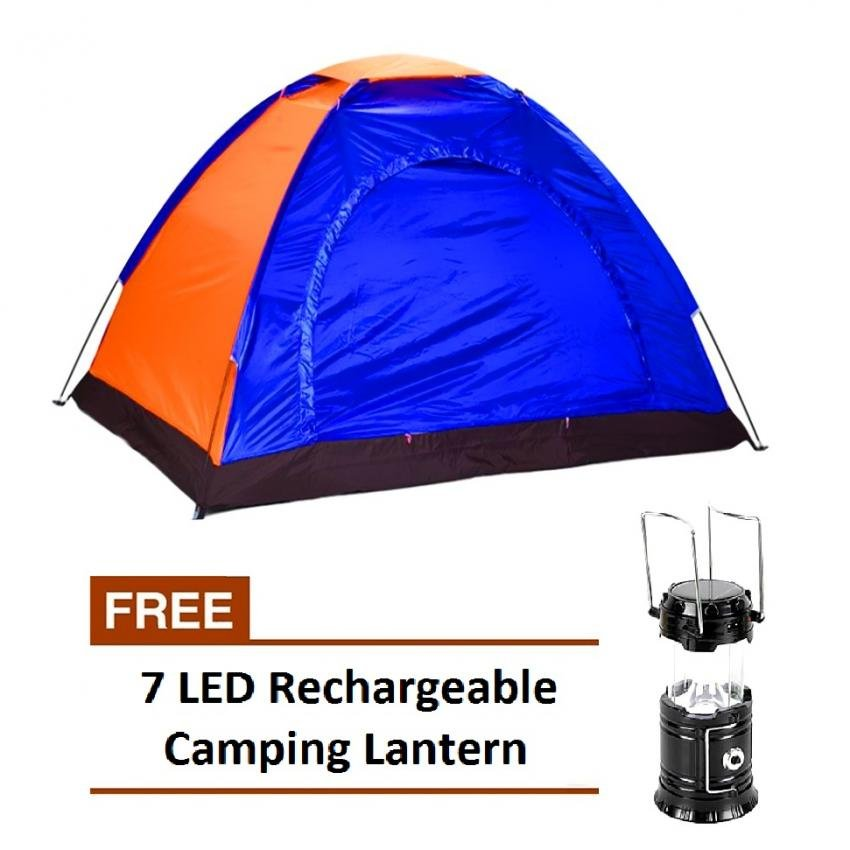 2-Person Dome C&ing Tent with FREE 7 LED Solar Power C&ingLantern Light Rechargeable Flashlight  sc 1 th 225 & Philippines | 2-Person Dome Camping Tent with FREE 7 LED Solar ...