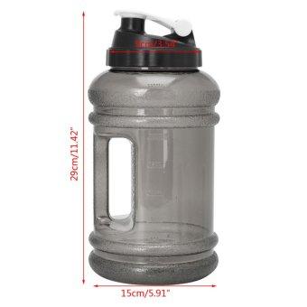 2.2L Big BPA Free Sport Gym Training Drink Water Bottle Cap Kettle Workout Hot(Black) - intl - 4