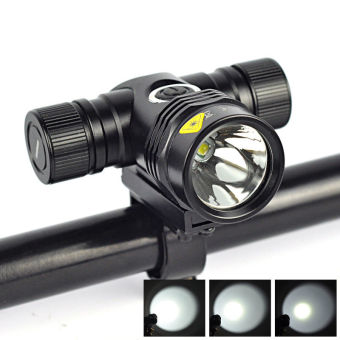 2500LM XM-L T6 LED 5-Modes 18650 Bicycle Bike Head Light Lamp Torch Flashlight - 2