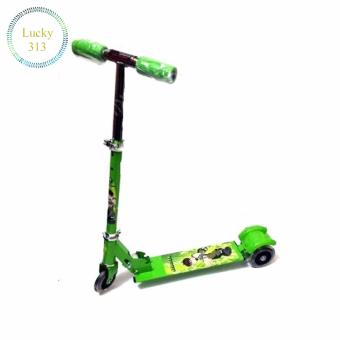 3 WHEEL SCOOTER For Kids (Green)