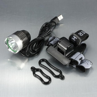 3000 Lumen XML T6 USB Interface LED Bike Bicycle Light HeadlampHeadlight 3Mode - intl - 3