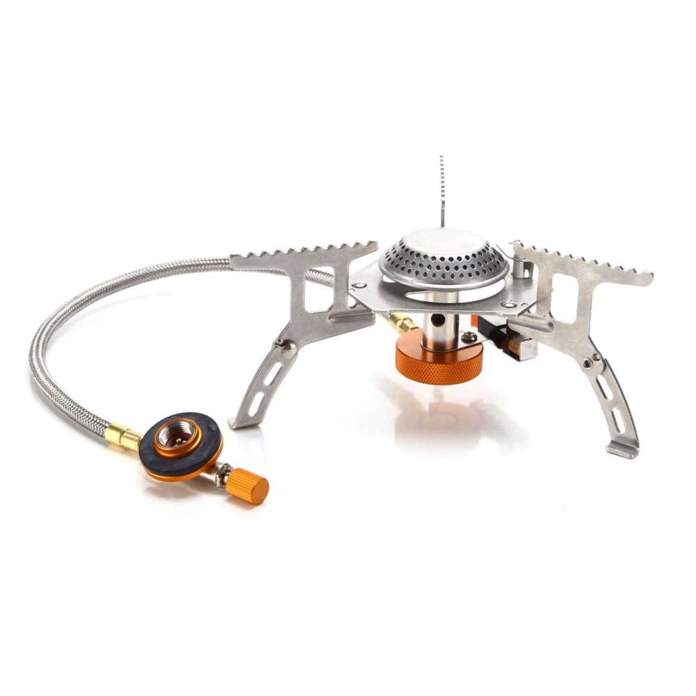 3000W Camping Gas Stove Cooking Portable Foldable Split Burner Outdoor Hiking intl