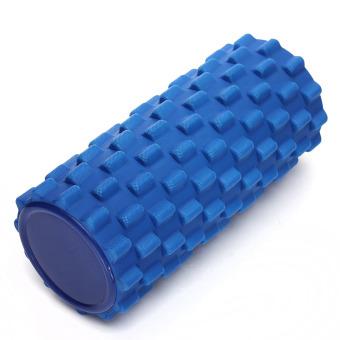 32x12cm EVA Grid Foam Roller Pilates Yoga Physio Gym Back Massage