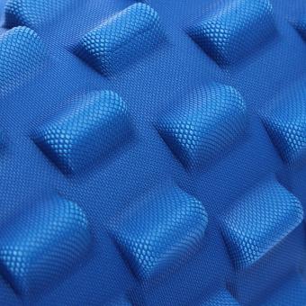 32x12cm EVA Grid Foam Roller Pilates Yoga Physio Gym Back Massage - picture 2