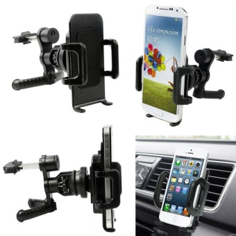360? Car Air Vent Mount Cradle Holder Stand For Mobile Cell Phone GPS - intl