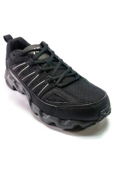 361 Degrees Masta Outdoor Comfort Trail Running Shoes (Black/Grey)