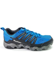 361 Degrees Masta Outdoor Comfort Trail Running Shoes (Blue/Black) - picture 2