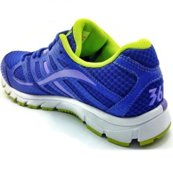 361 Degrees Zomi Running Shoes (Purple/Green) - picture 2