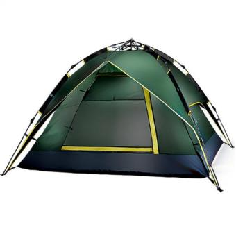 4-Person Automatic Folding Camping Tent (COLOR MAY VARY) - 2