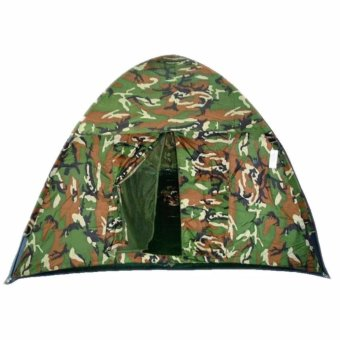4 Person Dome Camping Tent Camouflage