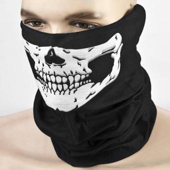 5-Pack Skull Face Masks Motorcycle Riding Bandana Headwear Scarf Outdoor Dustproof - Multifunctional,Seamless,Tublar,Thin - intl - 5
