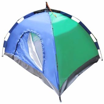6 Person Family Camping Tent with Fast Inflatable Sleeping BedFolding Sofa/Chair - 3