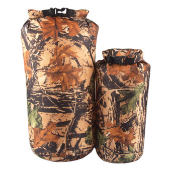 8L 15L Outdoor Camouflage Waterproof Floating Dry Bag Set BoatingSwimming