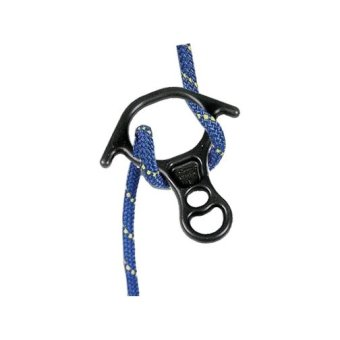Adela Rescue 8 Figure Oxhorn Climbing Equipment DescenderRappelling Alloy 40kN - 2