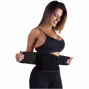 Adjustable Belly Trainer Waist Support Fitness Belt Sport waistbandPower Tummy Slim Belts (Size XL) - intl - 3
