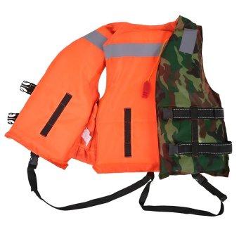 Adult Lifesaving Reversible Life Jacket Buoyancy Aid FlotationDevice Work Vest Clothing Swimming Marine Life Jackets SafetySurvival Suit Outdoor Water Sport Swimming Drifting Fishing - intl - 4