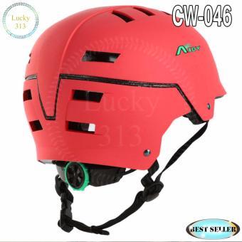 Aidy Best Helmet Sport Bicycle Helmet Large Adjustable CW-046 (None Polish Red) - 3