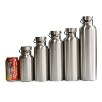 All Stainless Steel Thermos Double Wall Vacuum Insulated WaterBottle Flask Mug Cup Tumbler BPA Free - intl