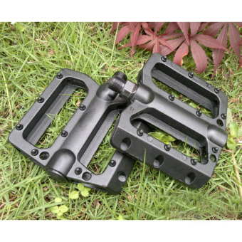 Alloy MTB Bike Bicycle Pedals Aluminum Cage Black Cycling Pedals
