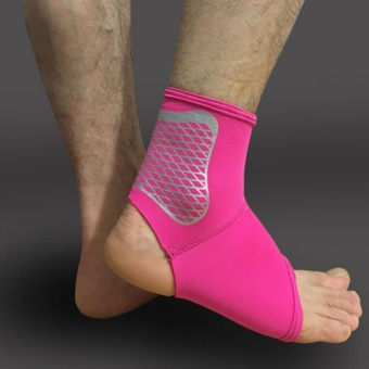Ankle Foot Support Brace Stabilizer Strap for Plantar FasciitisAchilles Tendonitis Sprains Running Football(Single/One)M - intl