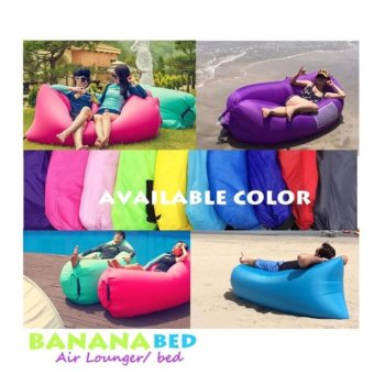 Banana Boat BedInflatable easy to use No pump needed with bag case