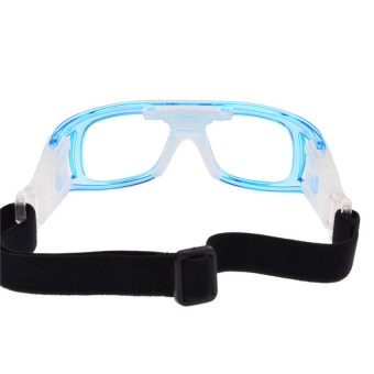 Basketball Soccer Sports Protective Eyewear Goggles Eye Safety Glasses with Case Blue - INTL - picture 2