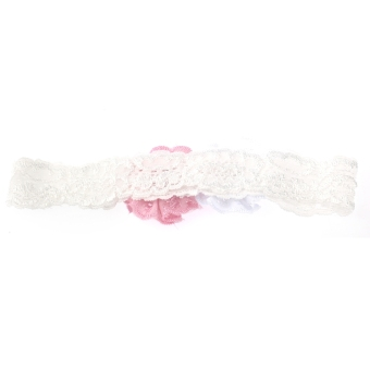 Beautiful Cute Elastic Lace Flower Style Baby Girl Headwear Headband Ornament Hair Accessory - picture 2