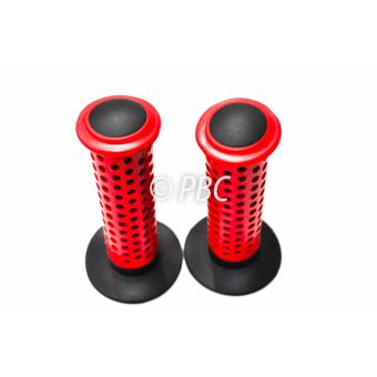 Bicycle HANDLE GRIP BMX OAKLEY DOTTED RED