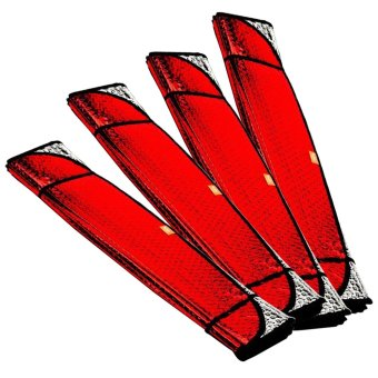 Blade Sun Shade Bundle of 4 (Red)