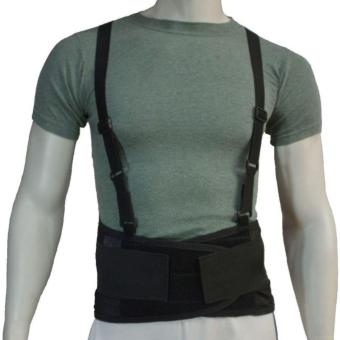 BODYCARE #BS03 Back Support Belt, 5pcs Stabilzer Lumbar Support, Knitted Mesh Fabric Air-Flow Waist Wrap Unisex - 5