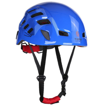 BolehDeals Outdoor Mountaineering Helmet Safety Climbing RappellingProtect Gear Blue Price Philippines