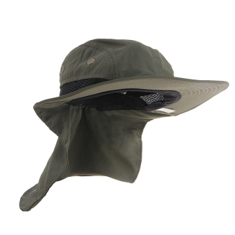 Boonie Fishing Hiking Outdoor Brim Neck Cover Bucket Sun Flap Hat Bush Cap