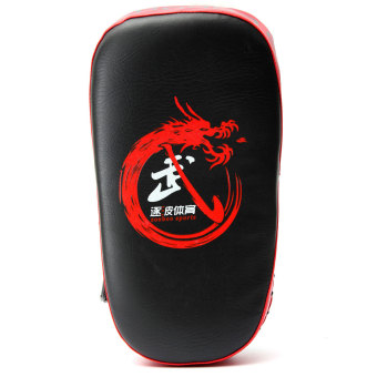 Boxing Muay Thai Martial Combat Karate Kicking Punching Training Pad Target Red