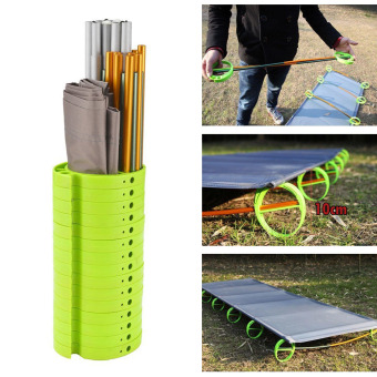 BRS Outdoor Ultralight Folding Portable Aluminium alloy CotsCamping Bed - 3