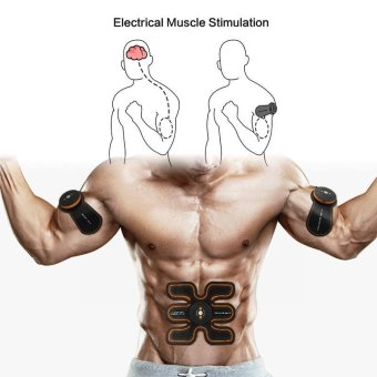 BUYINCOINS EMS Muscle Stimulator Abdomen Fat Burning Training Gear ABS Training Abdominal Fit Body Home Exercise Shape Fitness - intl - 4