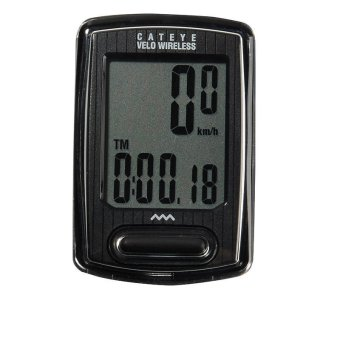 Cateye Cycling Bike Velo Wireless Digital Computer SpeedometerCC-VT230W Black