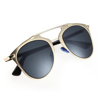 Classic Metal Frame Mirror Sunglasses Women Fashion Sunglass