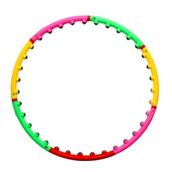 CWL Massage Hula Hoop (Multicolor)