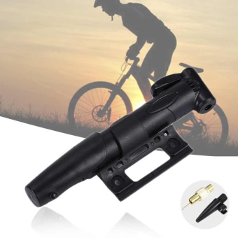 Cycling Bike Super Mini Portable Bicycle Hand pressure InflatorTire Pump New - intl - 2