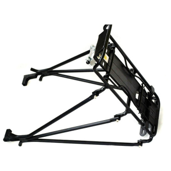 Cycling MTB Bicycle Carrier Rear Luggage Rack Shelf Bracket Aluminum Alloy for Disc Brake/V-brake Bike